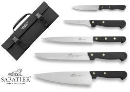 malette de couteaux de cuisine malette 5 couteaux français sabatier cuisine d aujourd hui