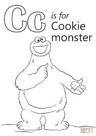 cookie monster coloring cookie monster coloring free