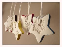 snowflake porcelain ornaments white and multi colored