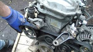 toyota corolla alternator replacement how to check and replace drive belt toyota corolla vvt i engine