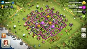big clash of clans base clash of clans tips town hall level 8 layouts part 2