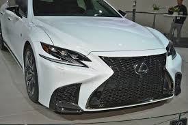 lexus new york city 2018 lexus ls500 f sport air ride active 4ws live nyias photos