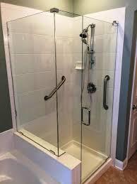 Bathroom Glass Shower Custom Glass Shower Enclosures Baker Glass