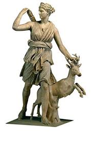 artemis diana greek goddess of mountains forests and hunting