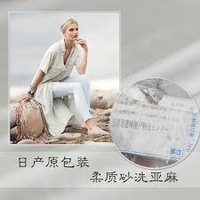 how to wash light colored clothes made in japan 100 flax linen sand wash light grey color cloth spring