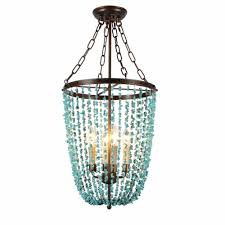 Kmart Novi by Au Courant Interiors Coastal Beaded Chandeliers Casual Luxury