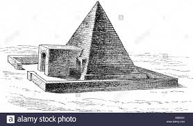 geography egypt abydos pyramids pyramid engraving 19th