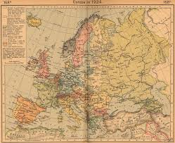 Europe Time Zone Map Maps A Map Of Europe Before Ww1