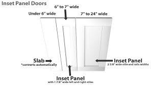 Shaker Cabinet Door Dimensions Shaker Cabinet Doors