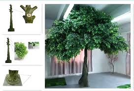 artificial plants and trees large indoor live decorative tree