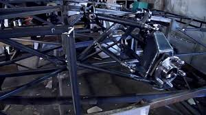 bentley blue powder coat bentley speed 8 replica chassis read description 1 5 youtube