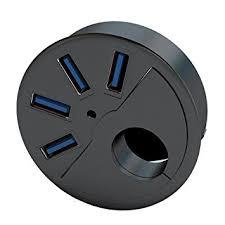 passe cable bureau sedna 2 5 passe cable de trou de bureau 2 5 usb 3 0 4 ports
