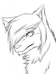 anime wolf drawing how to draw anime wolves anime wolves step step
