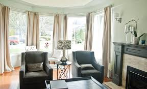 Living Room Curtain Ideas Modern Bay Window Curtain Ideas Blinds For Living Room Windows Dressings