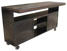 rolling island for kitchen rolling console cart eclectic kitchen islands and kitchen carts