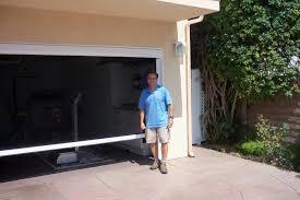 retractable garage door screen home design by larizza image of retractable garage door screen picture