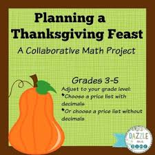 thanksgiving math project by dazzle on a dime teachers pay teachers