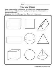 Havefunteaching Com Math Worksheets Shapes Worksheet 2 Your Shapes