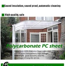 Automatic Patio Cover Cutsomized Metal Patio Cover Shade Waterproof Patio Furniture