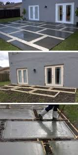 Backyard Designs On A Budget by Create An Inexpensive Patio Using Large Pavers And Gravel Patio