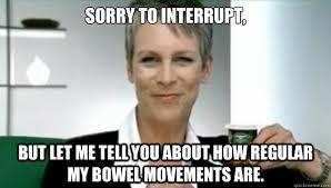 Jamie Meme - jamie lee curtis interruption memes quickmeme