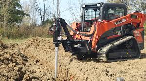 skid steer loader attachments u0026 accessories premier auger