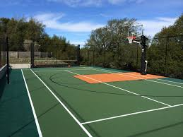 Backyard Sports Court by Residential Tennis Sportprosusa
