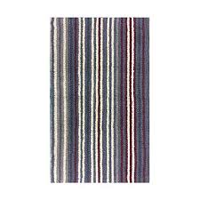 Reversible Bath Rugs Colormate Reversible Bath Rug Striped