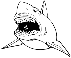 55 shark shape templates crafts u0026 colouring pages free