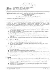 sample retail store manager resume store manager resume u2013 athousandwords us