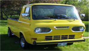 Vintage Ford Econoline Truck For Sale - a mercury truck but not what you think