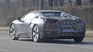 Bmw I8 Convertible - 2018 bmw i8 spyder prototypes spied with the top up and down