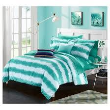 Tie Dye Comforter Set Lucas Striped Shibori Tie Dye Printed Comforter Set 7 Piece Twin