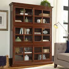 Bookcases With Glass Shelves Bookcases Costco