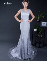 popular grey lace satin dress buy cheap grey lace satin dress lots