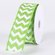cheap ribbons chevron canvas wired edge ribbons canvas ribbon wholesale