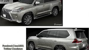 lexus truck lx new lexus lx facelift images leaked