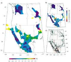 Map Of West United States by Minimum Magnitude Of Completeness In Earthquake Catalogs Examples