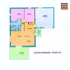 maison plain pied 2 chambres plan de maison individuelle plain pied