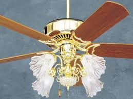 Brass Ceiling Fans With Lights by Polished Brass Ceiling Fans Ceiling Design