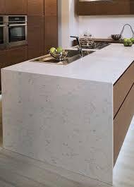 Quartz Kitchen Countertops Kitchen Room Scene Fairy White Quartz Countertop