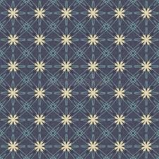 Hintergrundmuster Blau Weinlese Bl禺ht Grafik Auf Marine Blau Hintergrund Muster Vektor