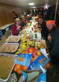 how to celebrate thanksgiving on trail the trek