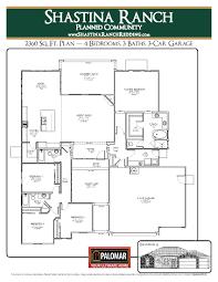2360 sq ft plan u2013 phase 2 u2013 shastina ranch redding