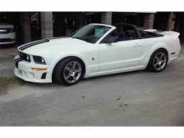 2007 ford mustang price ford mustang roush for sale on classiccars com 10 available