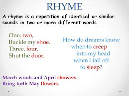 Words That Rhyme With Table Warm Up Complete Warm Up Located On Your Table Use The Correct