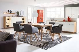 Esszimmer St Le F Runden Tisch Rietberger Esszimmer Deviso Eiche Sand Möbel Letz Ihr Online Shop