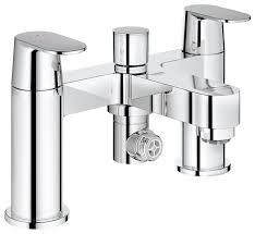 grohe 25128000 eurosmart cosmopolitan two handled bath filler grohe 25128000 eurosmart cosmopolitan two handled bath filler amazon co uk diy tools