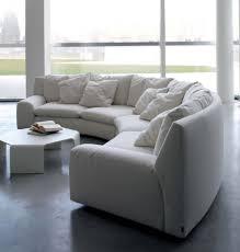 rembourrage canapé canapé semi circulaire dans le textile rembourrage de ben ben