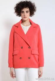 adhesive coated double breasted jacket crimson women u0027s jackets